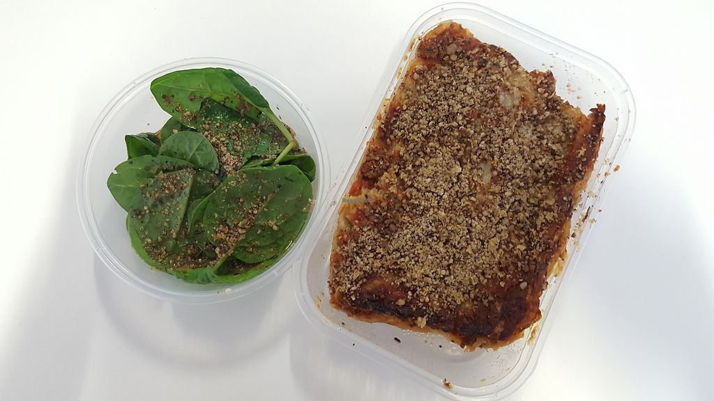 """Photo of Vegan Yes - Whitechapel  by <a href=""""/members/profile/VeganAnnaS"""">VeganAnnaS</a> <br/>Lasagne <br/> October 14, 2017  - <a href='/contact/abuse/image/98828/315212'>Report</a>"""