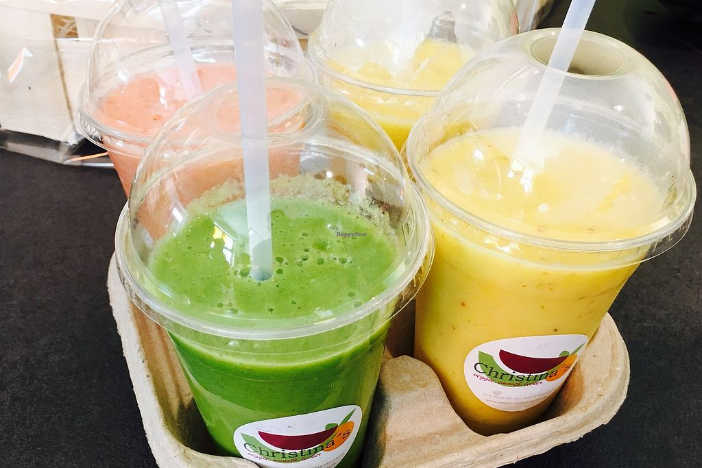 """Photo of Christina's  by <a href=""""/members/profile/BenjaminRoithmeier"""">BenjaminRoithmeier</a> <br/>smoothie <br/> August 20, 2017  - <a href='/contact/abuse/image/98836/294626'>Report</a>"""