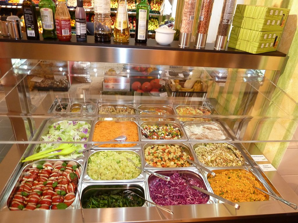 """Photo of Christina's  by <a href=""""/members/profile/BenjaminRoithmeier"""">BenjaminRoithmeier</a> <br/>salad bar <br/> August 20, 2017  - <a href='/contact/abuse/image/98836/294627'>Report</a>"""