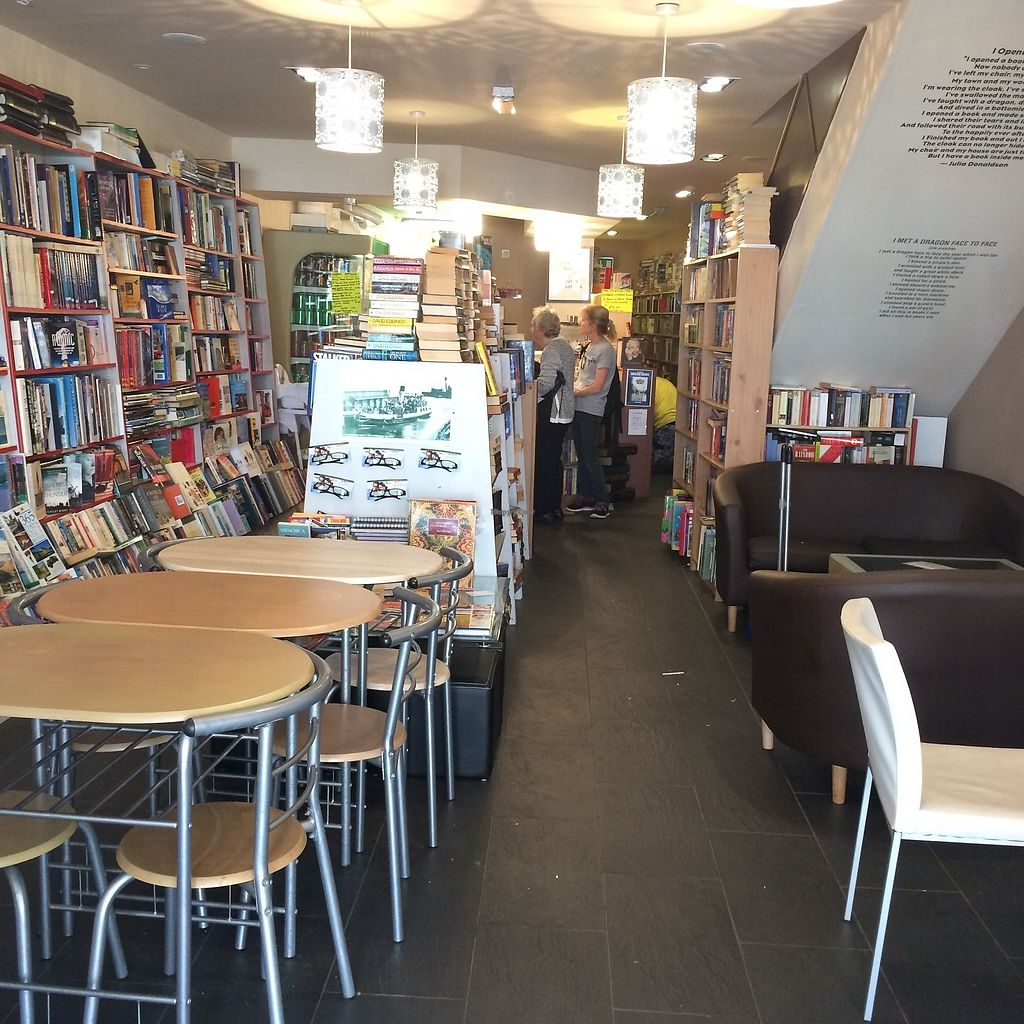 """Photo of Chapter Two Book Shop  by <a href=""""/members/profile/Hoggy"""">Hoggy</a> <br/>Inside Chapter Two Book Shop and Cafe <br/> August 23, 2017  - <a href='/contact/abuse/image/98854/296175'>Report</a>"""