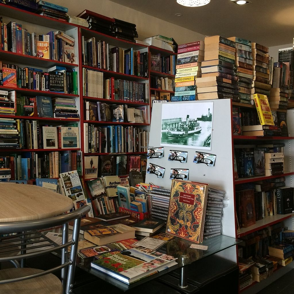 """Photo of Chapter Two Book Shop  by <a href=""""/members/profile/Hoggy"""">Hoggy</a> <br/>Inside Chapter Two Book Shop and Cafe <br/> August 23, 2017  - <a href='/contact/abuse/image/98854/296176'>Report</a>"""
