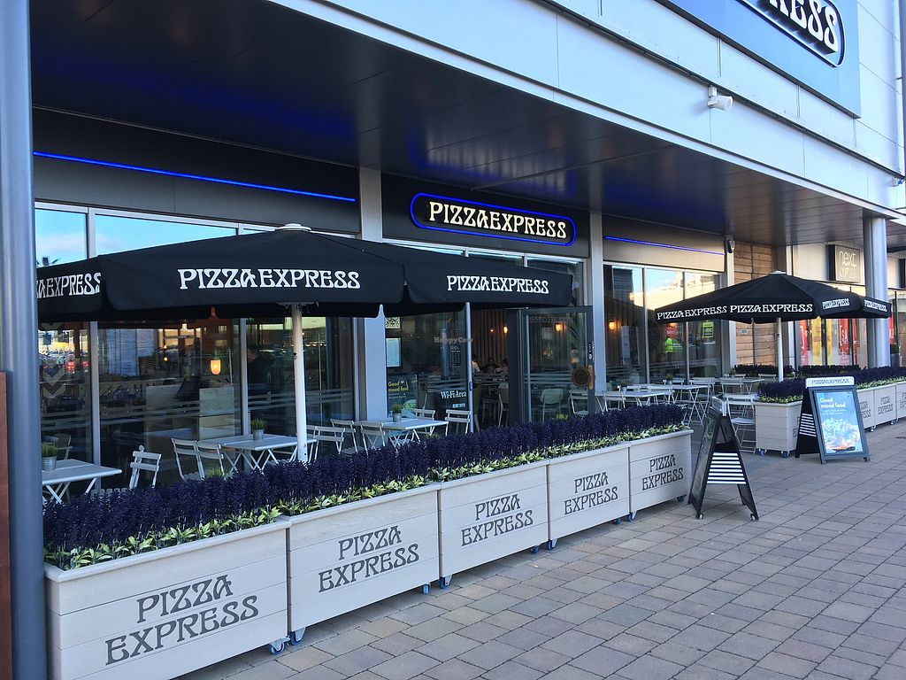 "Photo of Pizza Express  by <a href=""/members/profile/hack_man"">hack_man</a> <br/>Outside  <br/> February 17, 2018  - <a href='/contact/abuse/image/98858/360387'>Report</a>"