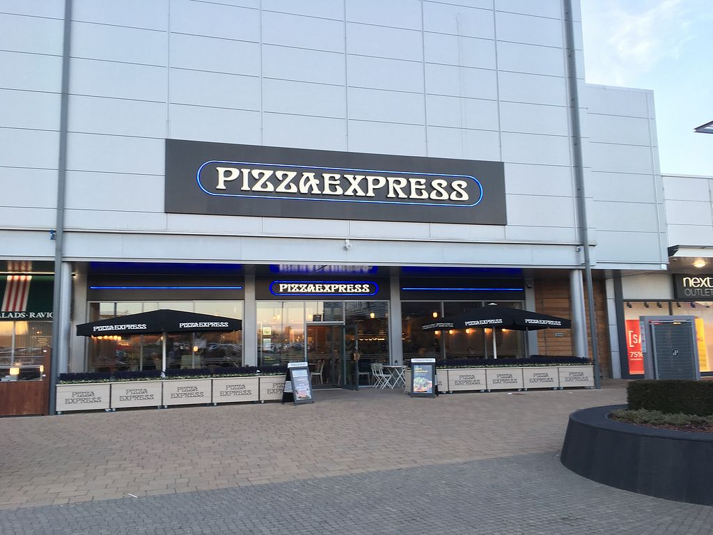 "Photo of Pizza Express  by <a href=""/members/profile/hack_man"">hack_man</a> <br/>Outside  <br/> February 17, 2018  - <a href='/contact/abuse/image/98858/360389'>Report</a>"