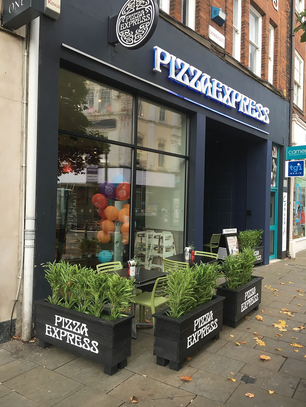"Photo of Pizza Express  by <a href=""/members/profile/hack_man"">hack_man</a> <br/>Outside  <br/> October 14, 2017  - <a href='/contact/abuse/image/98860/315095'>Report</a>"