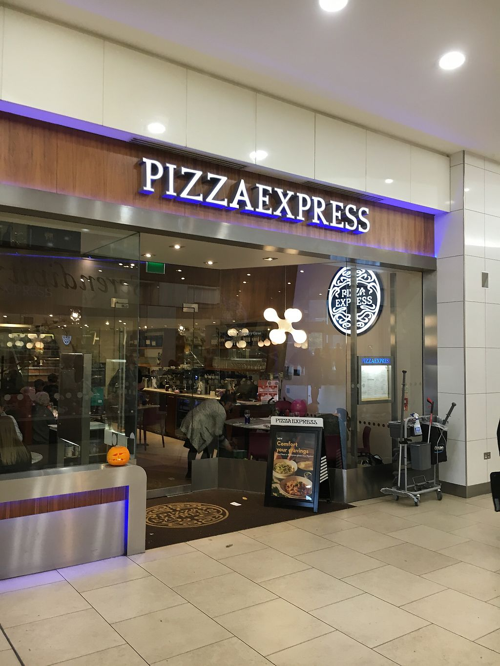 """Photo of Pizza Express - Eldon Square  by <a href=""""/members/profile/hack_man"""">hack_man</a> <br/>Outside  <br/> October 28, 2017  - <a href='/contact/abuse/image/98870/319618'>Report</a>"""