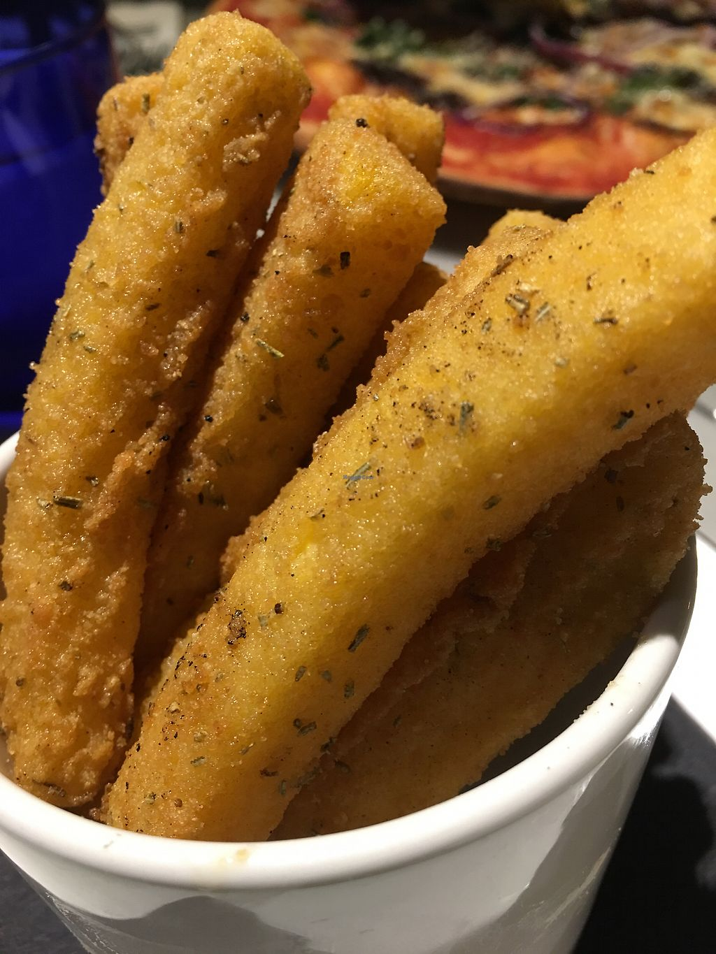 """Photo of Pizza Express  by <a href=""""/members/profile/hack_man"""">hack_man</a> <br/>Polenta fries  <br/> April 22, 2018  - <a href='/contact/abuse/image/98873/389227'>Report</a>"""