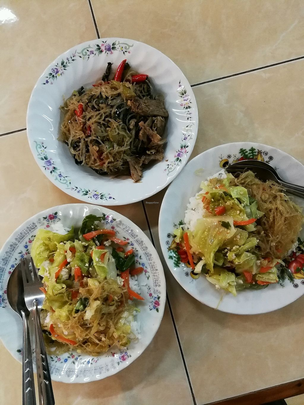 """Photo of Che Cheng  by <a href=""""/members/profile/RawChefYin"""">RawChefYin</a> <br/>rice, vegetables, glass noodles  <br/> January 26, 2018  - <a href='/contact/abuse/image/9887/350997'>Report</a>"""