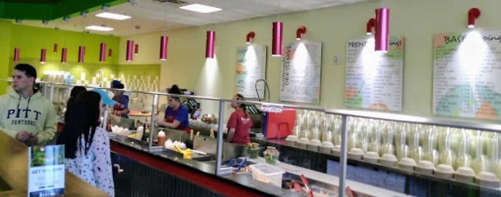 """Photo of Red Leaf Salad Company  by <a href=""""/members/profile/KimHale-Yim"""">KimHale-Yim</a> <br/>Counter <br/> August 18, 2017  - <a href='/contact/abuse/image/98883/293952'>Report</a>"""