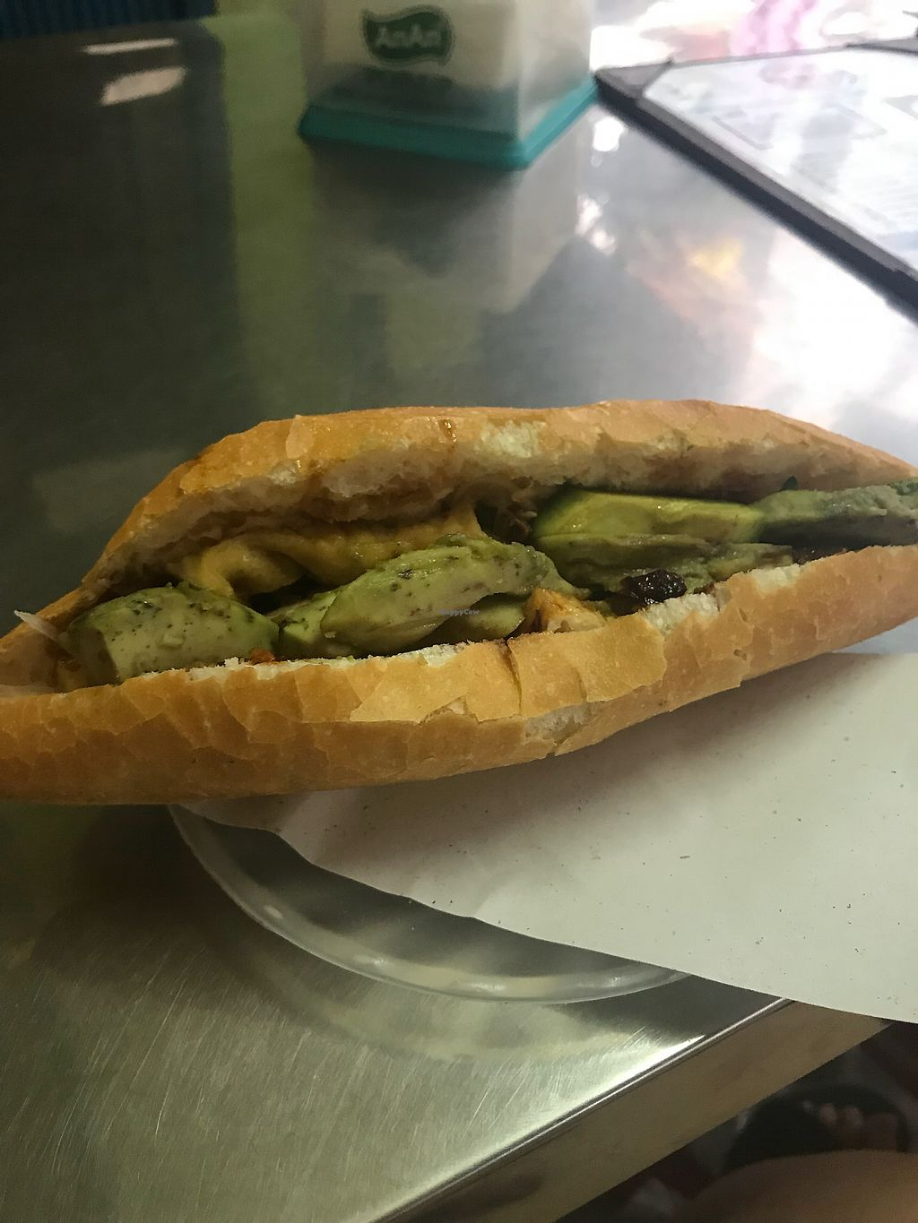 """Photo of Phi Banh Mi  by <a href=""""/members/profile/AnnaLevshin"""">AnnaLevshin</a> <br/>Vego with no cheese and avo <br/> April 15, 2018  - <a href='/contact/abuse/image/98895/386170'>Report</a>"""