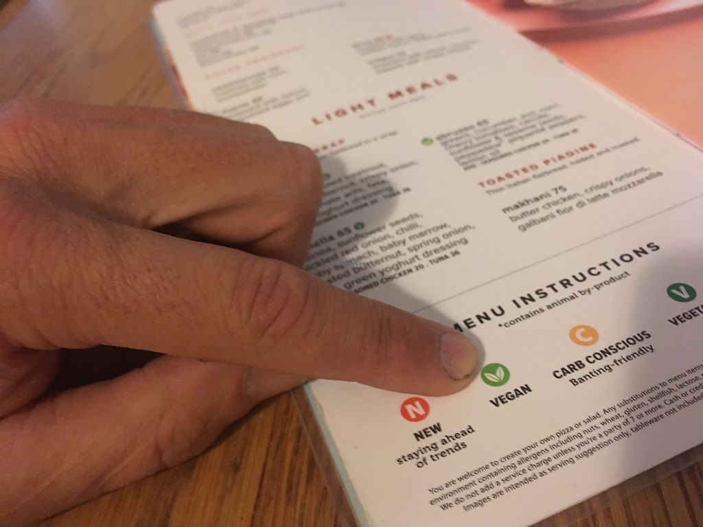 """Photo of Col'Cacchio Pizzeria  by <a href=""""/members/profile/NikitaLeys"""">NikitaLeys</a> <br/>Menu guide moving with the times ❤️ <br/> April 17, 2018  - <a href='/contact/abuse/image/98902/387323'>Report</a>"""