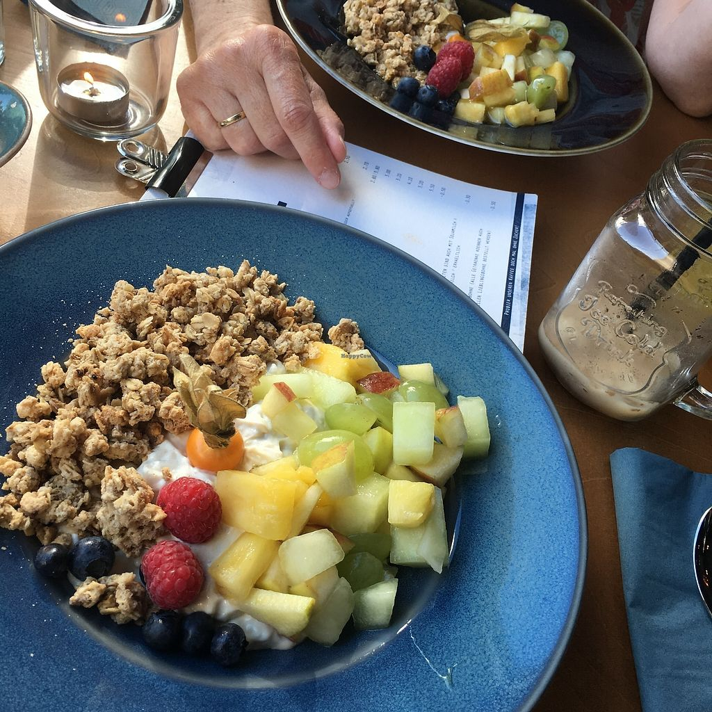 "Photo of Leni liebt Kaffee  by <a href=""/members/profile/ana_nel"">ana_nel</a> <br/>Soy yoghurt with fruit and granola <br/> August 23, 2017  - <a href='/contact/abuse/image/98905/296181'>Report</a>"