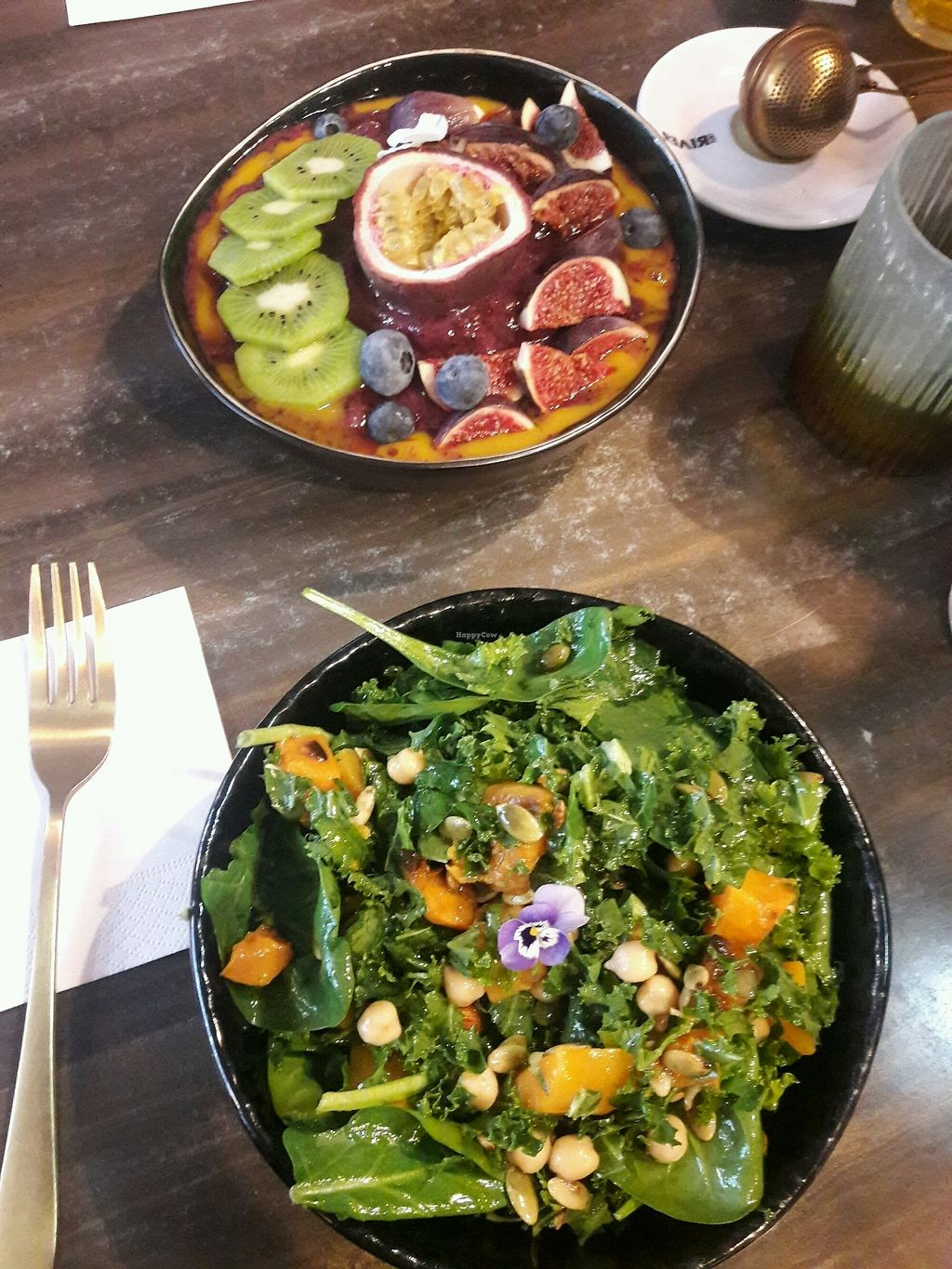 """Photo of Cafe Feel Good  by <a href=""""/members/profile/piffelina"""">piffelina</a> <br/>Butternut salad and breakfast bowl <br/> December 3, 2017  - <a href='/contact/abuse/image/98918/331680'>Report</a>"""