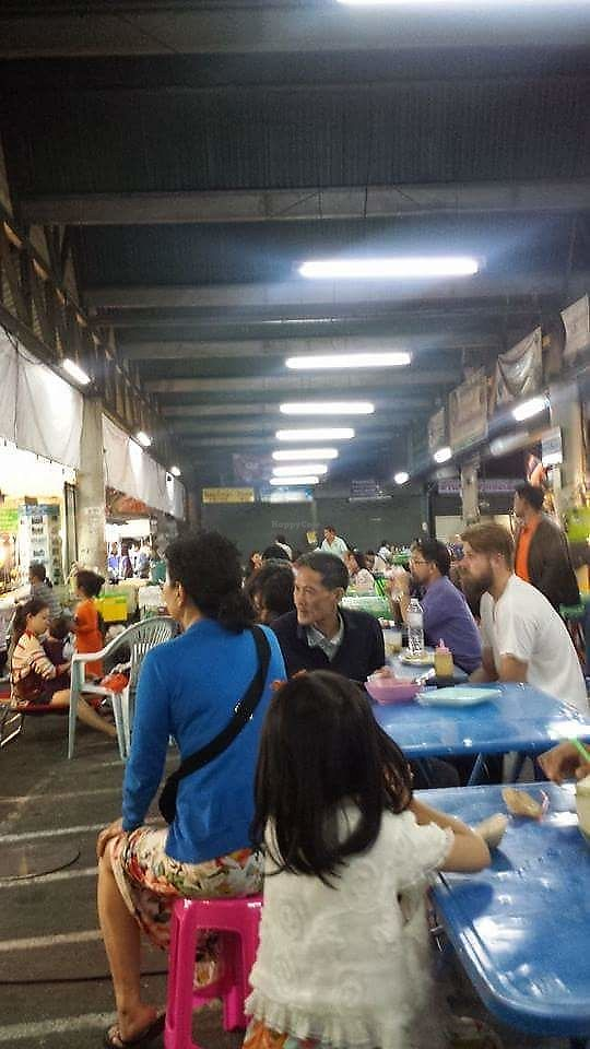 """Photo of Saturday Market Food Stall  by <a href=""""/members/profile/Peiyan"""">Peiyan</a> <br/>Inside the hawker centre just a couple of streets from the Saturday Walking Street <br/> August 19, 2017  - <a href='/contact/abuse/image/98923/294139'>Report</a>"""