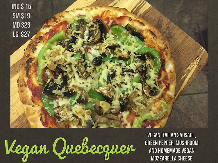 "Photo of Real Things Pizza  by <a href=""/members/profile/RealThingsPizza"">RealThingsPizza</a> <br/>Vegan Quebecquer <br/> August 19, 2017  - <a href='/contact/abuse/image/98938/294432'>Report</a>"