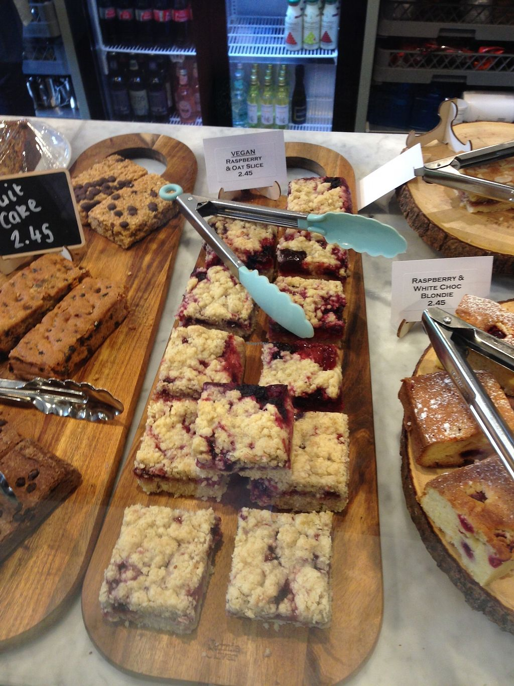 "Photo of Temple Newsam Tea Room  by <a href=""/members/profile/nathanjm"">nathanjm</a> <br/>Vegan raspberry and oat slice <br/> August 18, 2017  - <a href='/contact/abuse/image/98952/294101'>Report</a>"