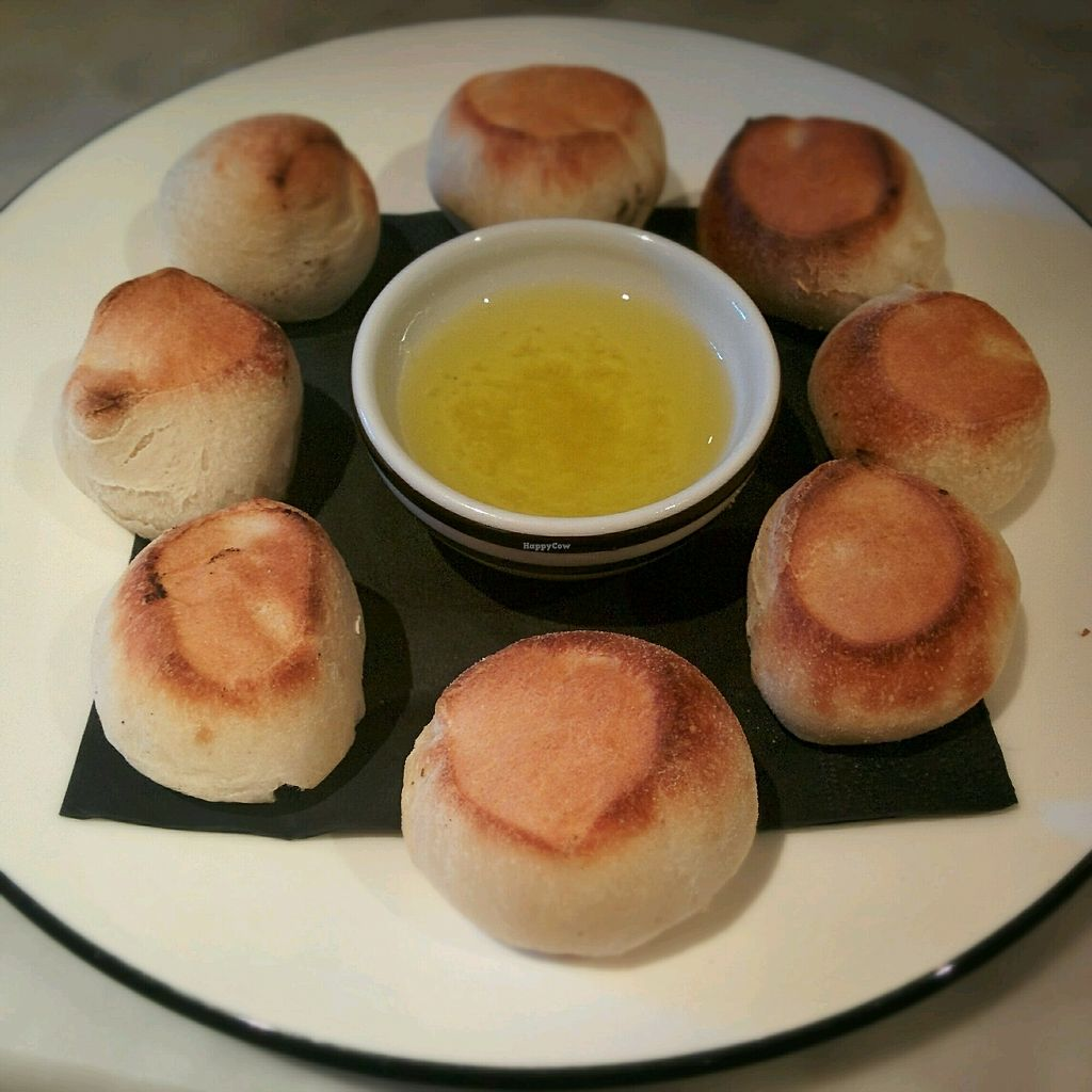 """Photo of Pizza Express  by <a href=""""/members/profile/jord_aka"""">jord_aka</a> <br/>Dough balls with garlic oil <br/> February 28, 2018  - <a href='/contact/abuse/image/98975/365031'>Report</a>"""