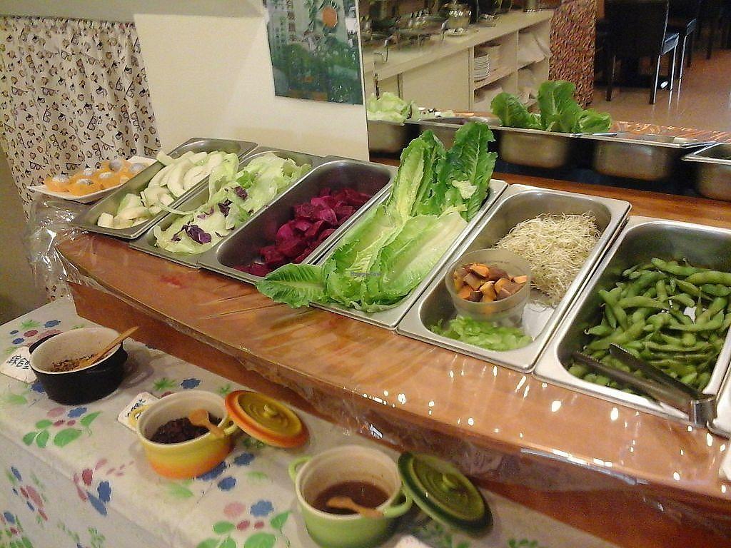 "Photo of Shu Xing - Healthy Vegetarian Food  by <a href=""/members/profile/junya"">junya</a> <br/>Salad bar <br/> September 12, 2017  - <a href='/contact/abuse/image/99004/303642'>Report</a>"