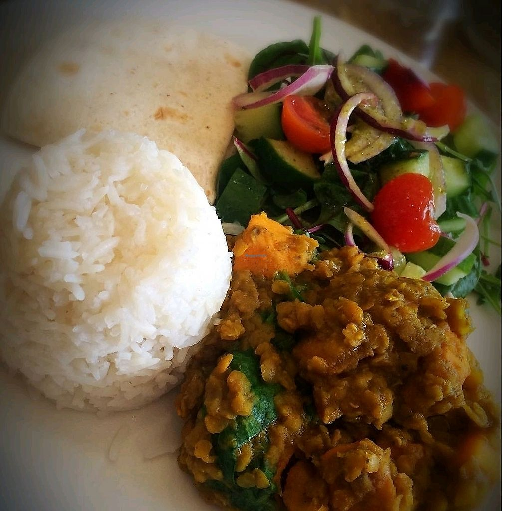 """Photo of Habitat Cafe  by <a href=""""/members/profile/craigmc"""">craigmc</a> <br/>vegan dhal <br/> March 28, 2018  - <a href='/contact/abuse/image/99006/377529'>Report</a>"""