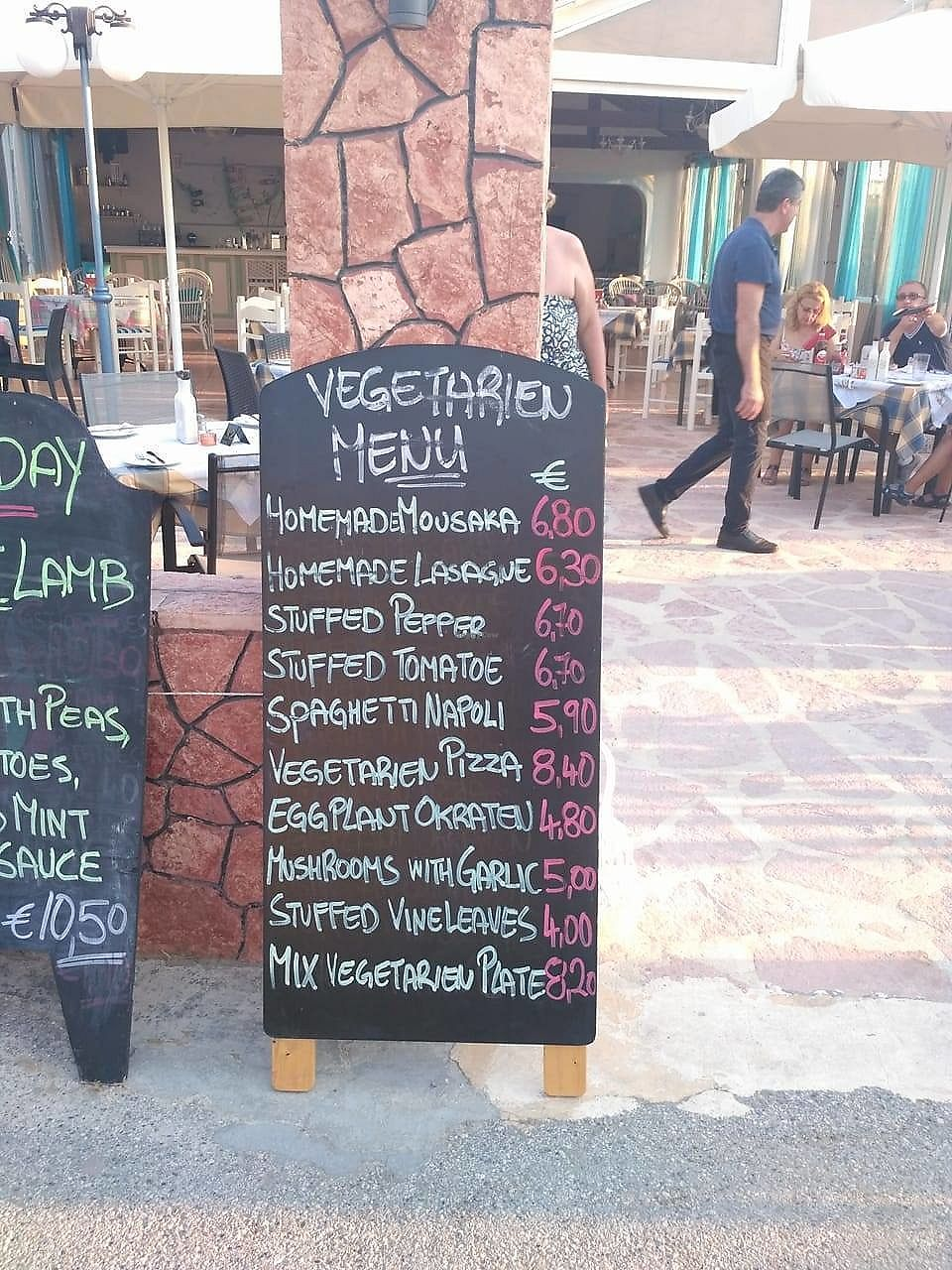 "Photo of Taverna Kavvadias  by <a href=""/members/profile/aga.mika"">aga.mika</a> <br/>Vege menu  <br/> September 6, 2017  - <a href='/contact/abuse/image/99021/301436'>Report</a>"