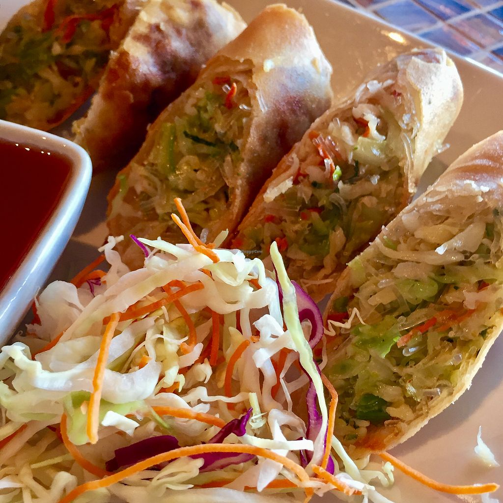 "Photo of Chon Thai Food  by <a href=""/members/profile/Squirrellypup"">Squirrellypup</a> <br/>Crispy Spring Rolls <br/> August 24, 2017  - <a href='/contact/abuse/image/99048/296854'>Report</a>"