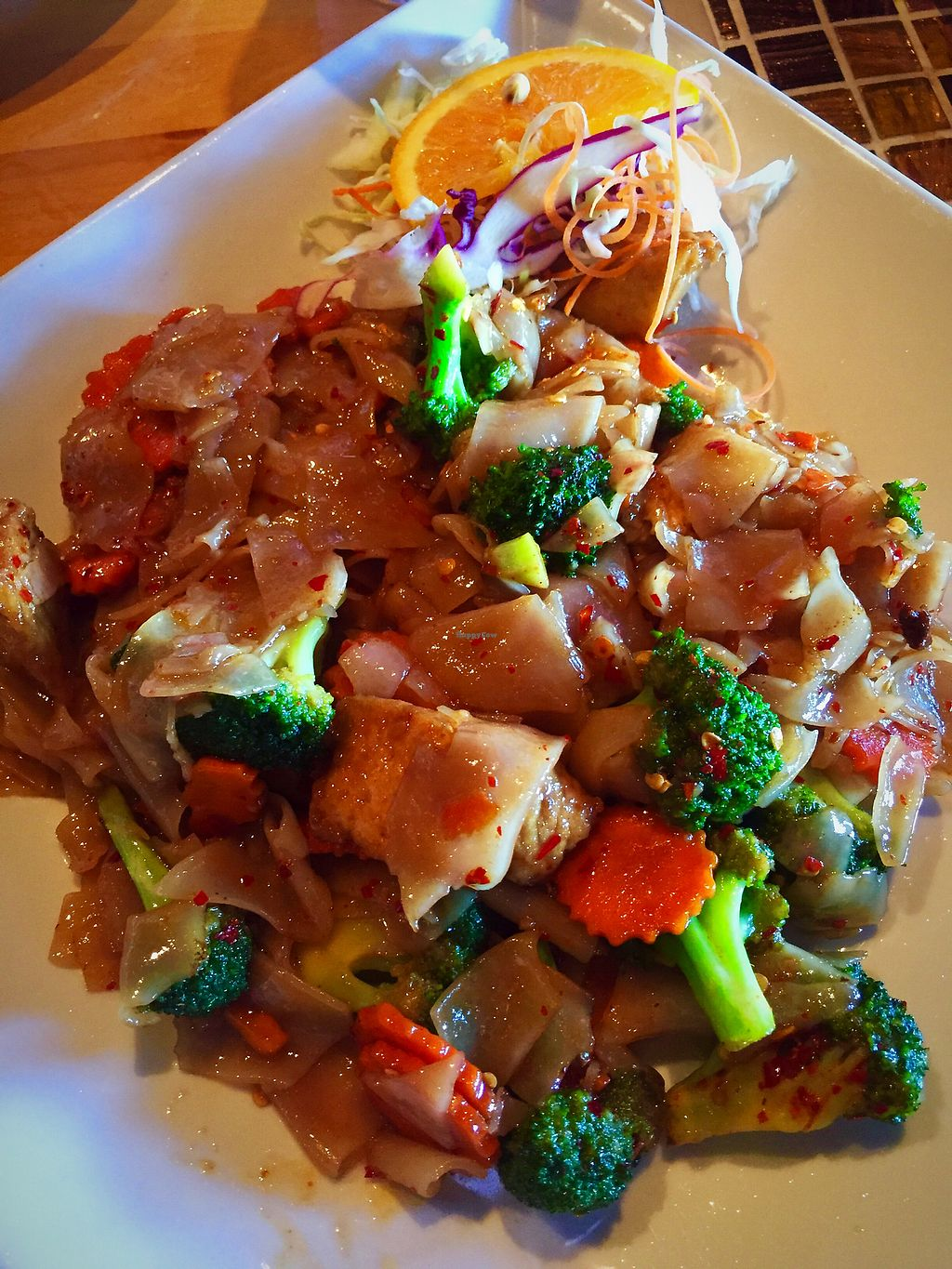 "Photo of Chon Thai Food  by <a href=""/members/profile/Squirrellypup"">Squirrellypup</a> <br/>Pad Se Ew with Tofu <br/> August 24, 2017  - <a href='/contact/abuse/image/99048/296856'>Report</a>"