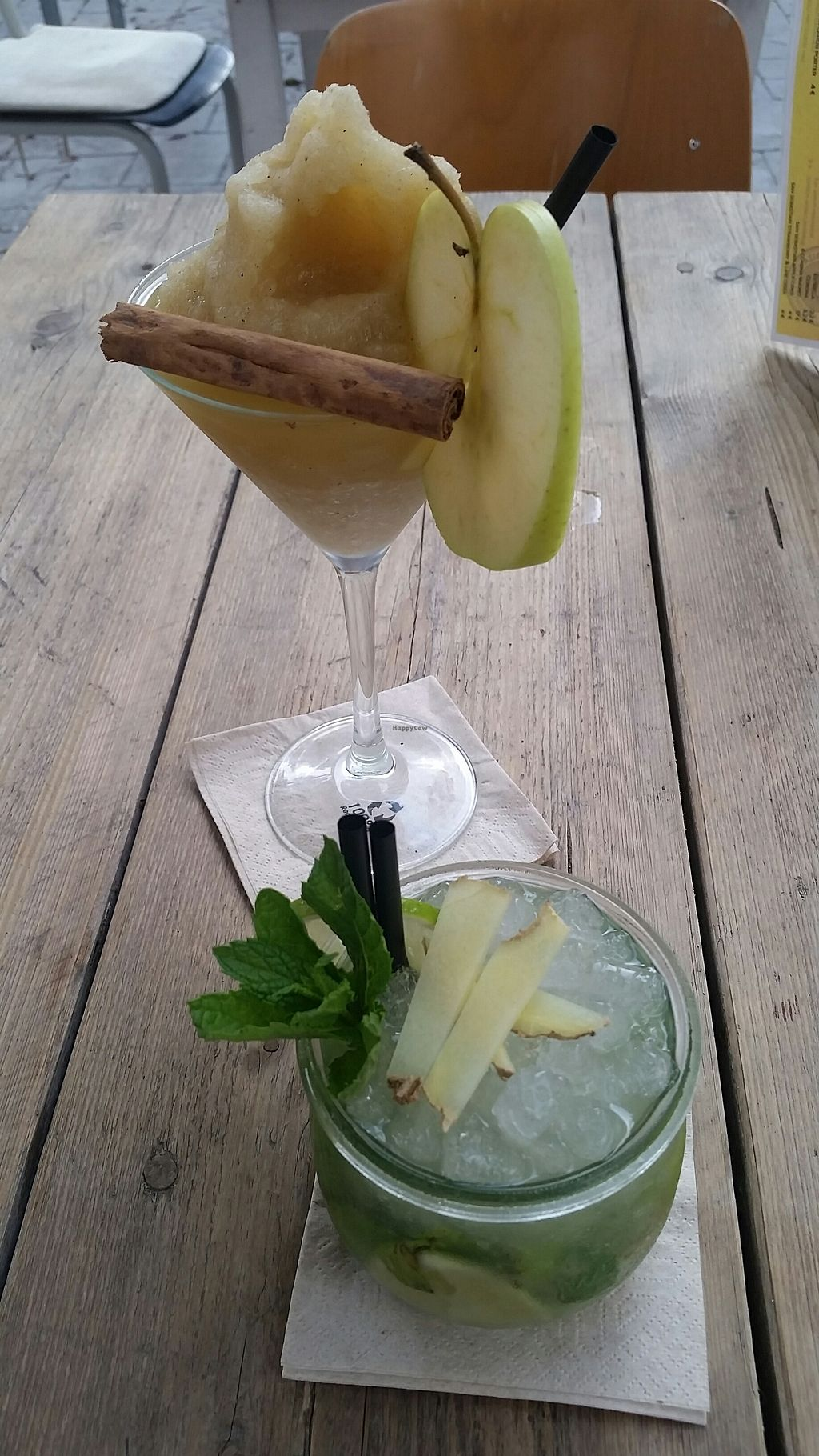 "Photo of Nude Cafe  by <a href=""/members/profile/rominargh"">rominargh</a> <br/>ginger daiquiri and ginger mojito <br/> August 21, 2017  - <a href='/contact/abuse/image/99067/295064'>Report</a>"
