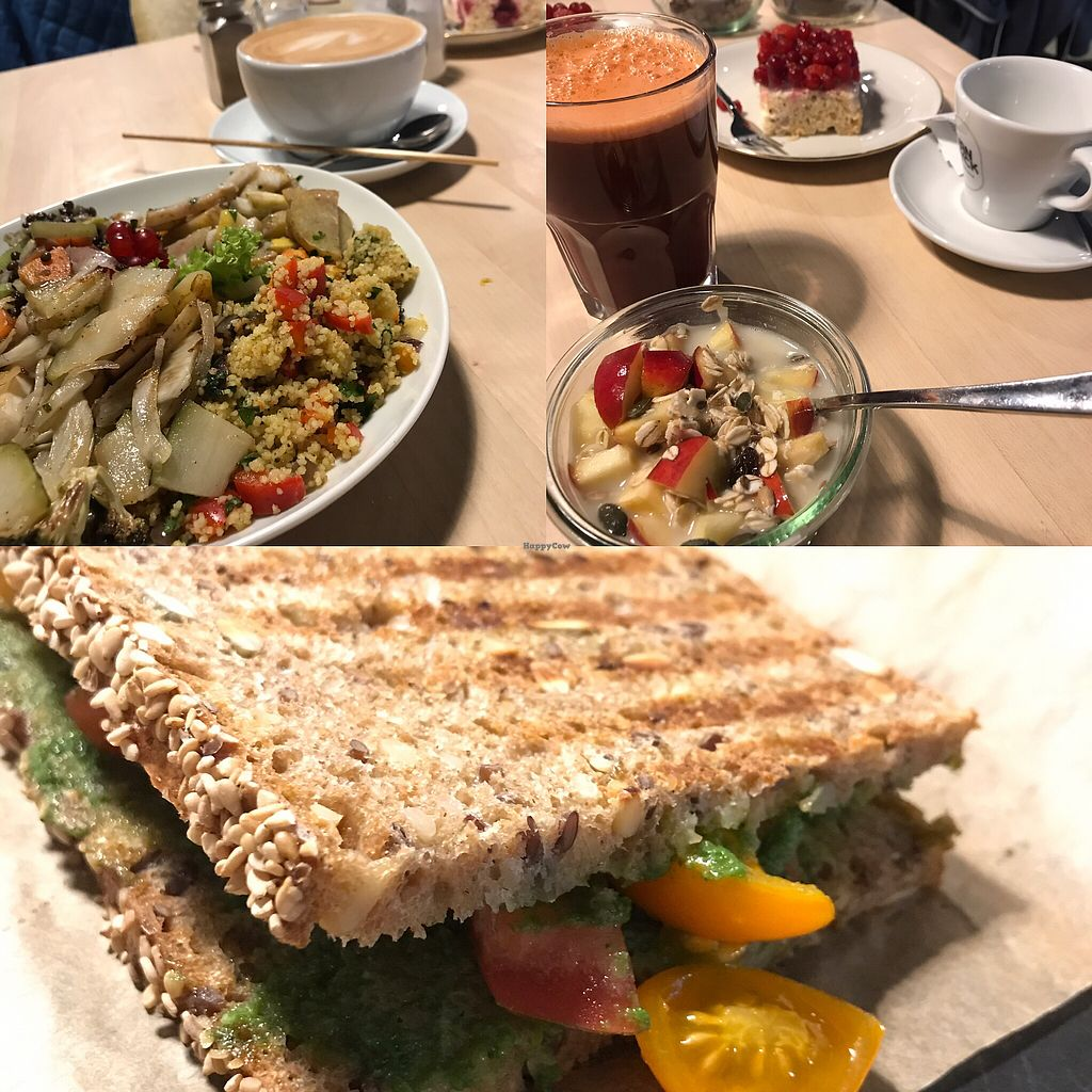 """Photo of Café Heimisch  by <a href=""""/members/profile/LarryMRobinson"""">LarryMRobinson</a> <br/>breakfast / lunch / sandwich vegan <br/> August 25, 2017  - <a href='/contact/abuse/image/99072/297058'>Report</a>"""