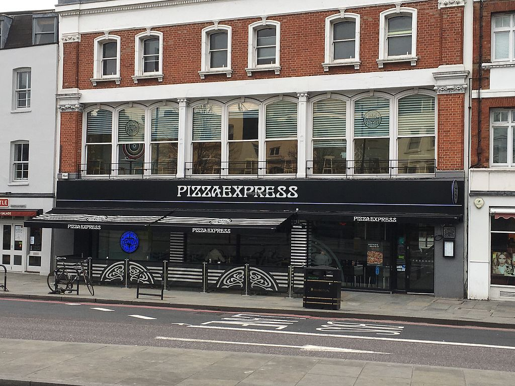 "Photo of Pizza Express - Islington  by <a href=""/members/profile/hack_man"">hack_man</a> <br/>Exterior  <br/> April 1, 2018  - <a href='/contact/abuse/image/99081/379316'>Report</a>"