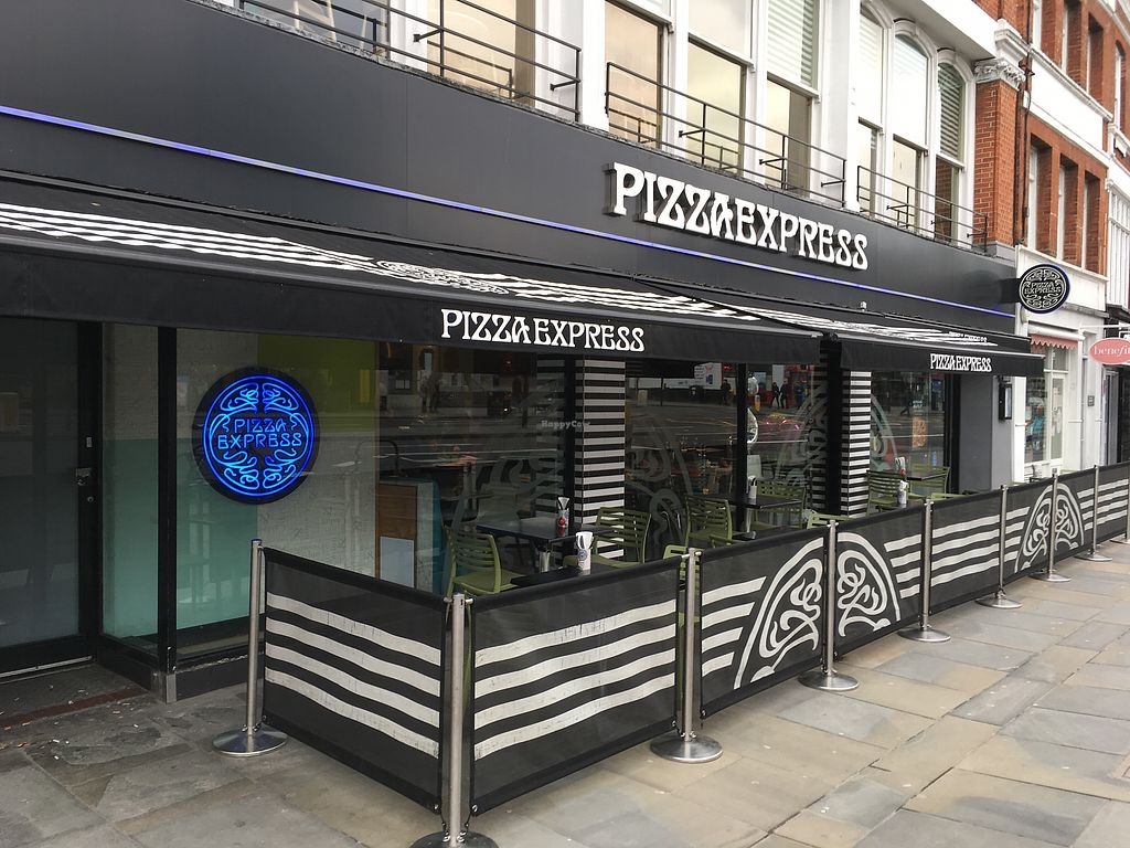 "Photo of Pizza Express - Islington  by <a href=""/members/profile/hack_man"">hack_man</a> <br/>Exterior  <br/> April 1, 2018  - <a href='/contact/abuse/image/99081/379405'>Report</a>"