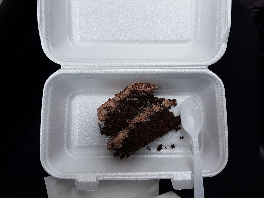"""Photo of Bungo Barista  by <a href=""""/members/profile/LaurenHunter"""">LaurenHunter</a> <br/>Vegan and gluten free chocolate slice <br/> August 20, 2017  - <a href='/contact/abuse/image/99117/294930'>Report</a>"""
