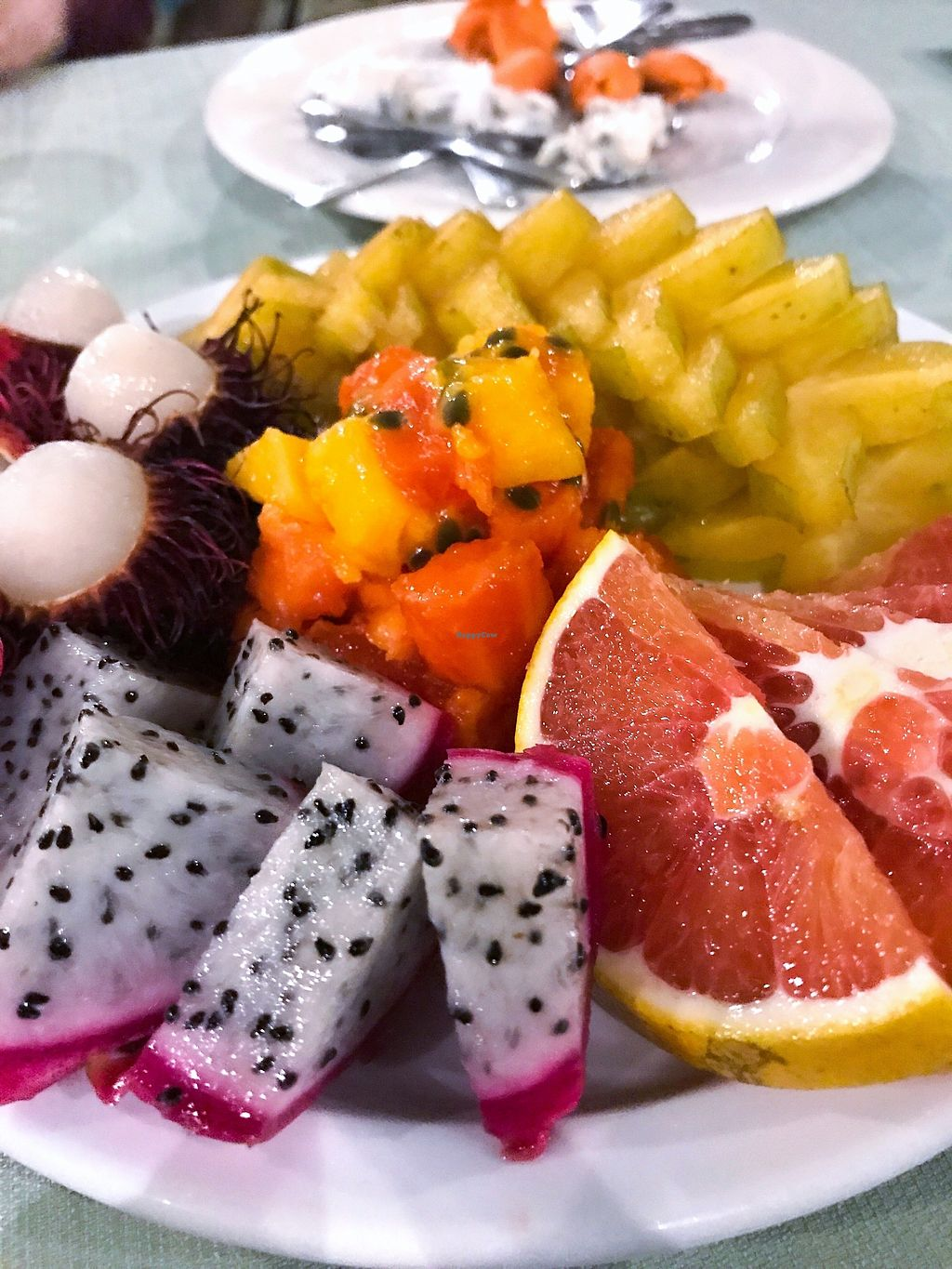 """Photo of OurPlace  by <a href=""""/members/profile/AllisonJ"""">AllisonJ</a> <br/>The fruit plate is always perfection  <br/> November 6, 2017  - <a href='/contact/abuse/image/99134/322682'>Report</a>"""
