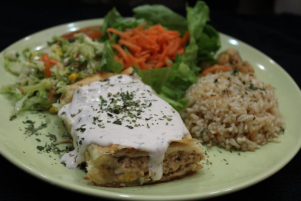 """Photo of Oásis Vegetariano 2  by <a href=""""/members/profile/Vera%20Peres"""">Vera Peres</a> <br/>French roll (vegan without sauce) <br/> November 17, 2017  - <a href='/contact/abuse/image/99139/326481'>Report</a>"""
