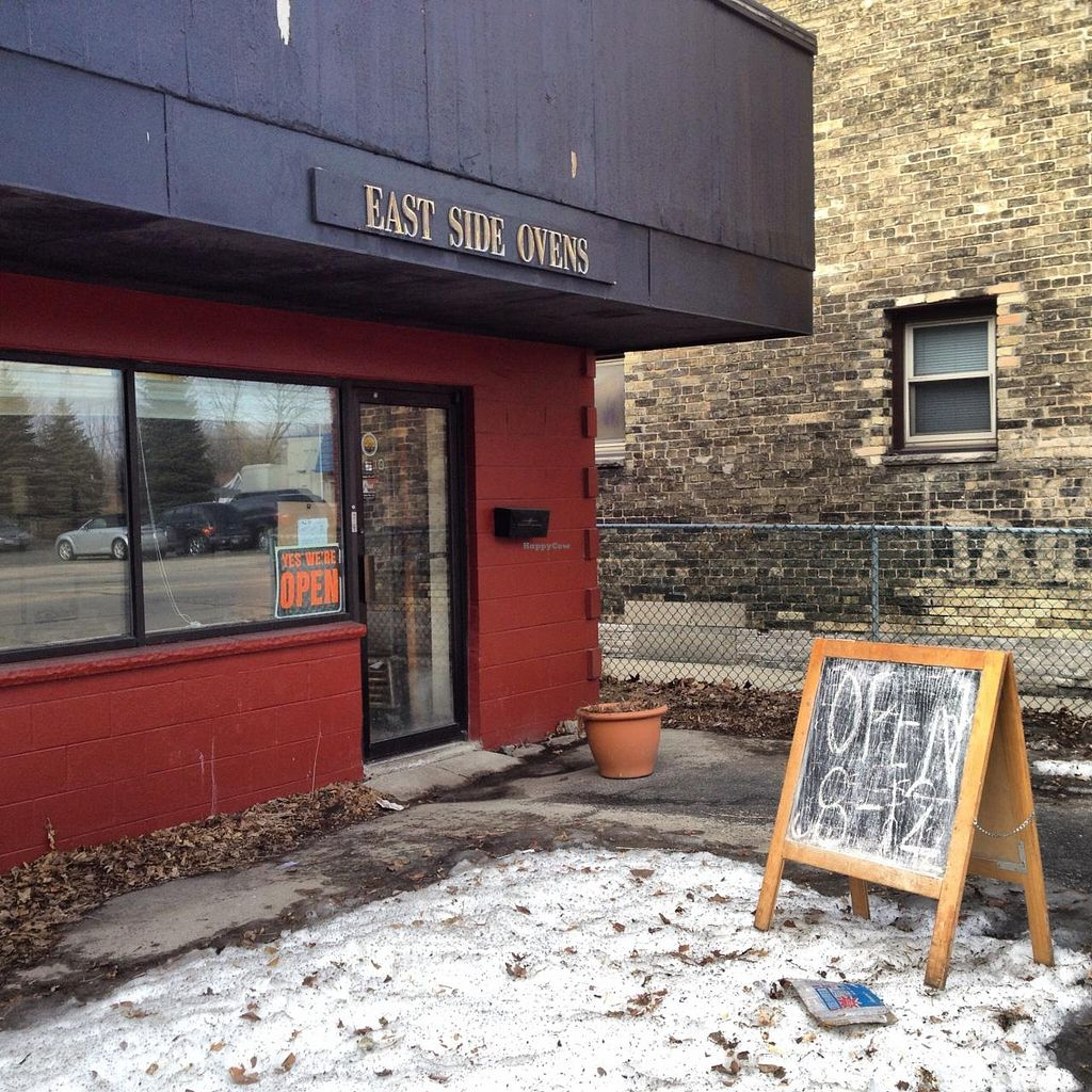 Photo of East Side Ovens Bakery  by RamblingVegans <br/>East Side Ovens  <br/> March 15, 2014  - <a href='/contact/abuse/image/9914/65957'>Report</a>