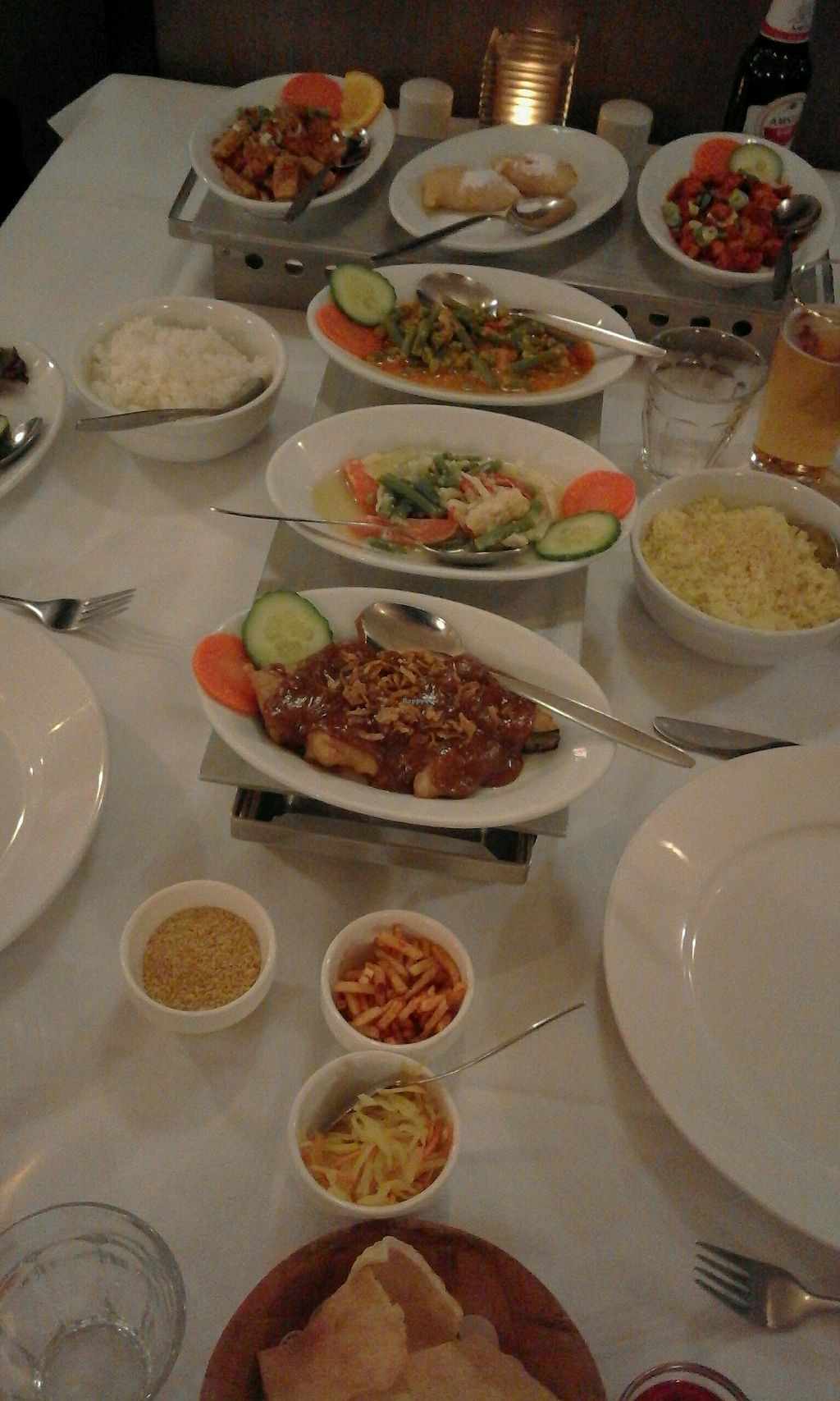 """Photo of Puri Mas  by <a href=""""/members/profile/v_mdj"""">v_mdj</a> <br/>little vegan 'rijsttafel' for 2 <br/> January 7, 2018  - <a href='/contact/abuse/image/99176/343993'>Report</a>"""