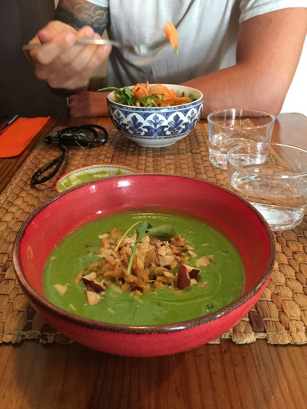 """Photo of Duke Restaurant  by <a href=""""/members/profile/anabelucha"""">anabelucha</a> <br/>green gazpacho <br/> August 23, 2017  - <a href='/contact/abuse/image/99192/296186'>Report</a>"""
