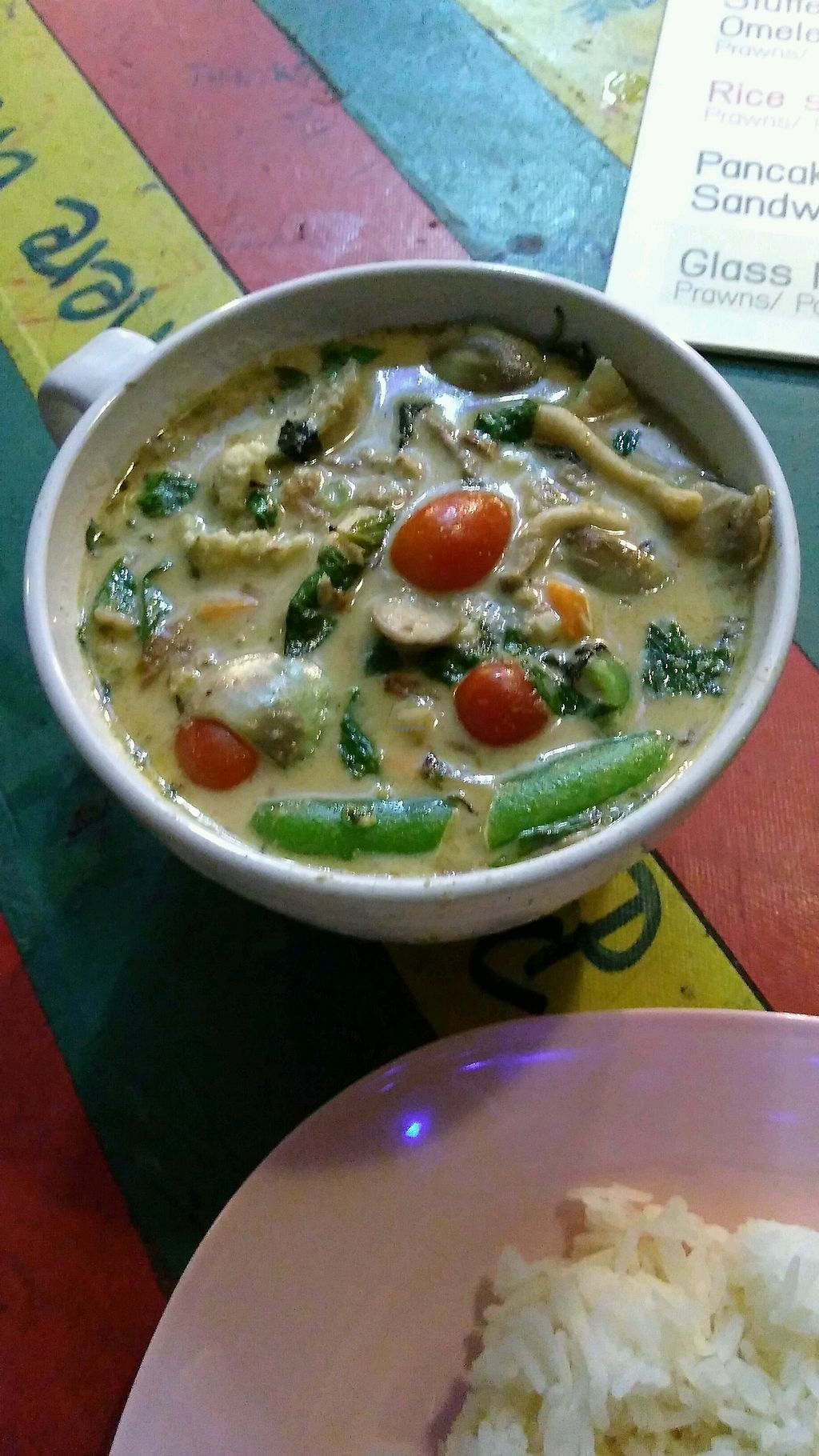 "Photo of Big Mama's  by <a href=""/members/profile/ospencer91"">ospencer91</a> <br/>delicious thai green veggie curry w/tofu <br/> August 21, 2017  - <a href='/contact/abuse/image/99198/295178'>Report</a>"