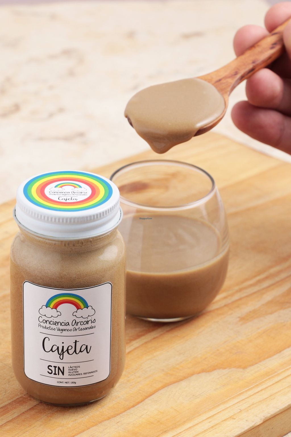 """Photo of Conciencia Arcoiris Productos Veganos Artesanales  by <a href=""""/members/profile/D%C3%A9ia%C3%81vilaFontana"""">DéiaÁvilaFontana</a> <br/>Vegan Cajeta, sweetened with brown sugar, no refined sugar added <br/> August 24, 2017  - <a href='/contact/abuse/image/99214/296758'>Report</a>"""