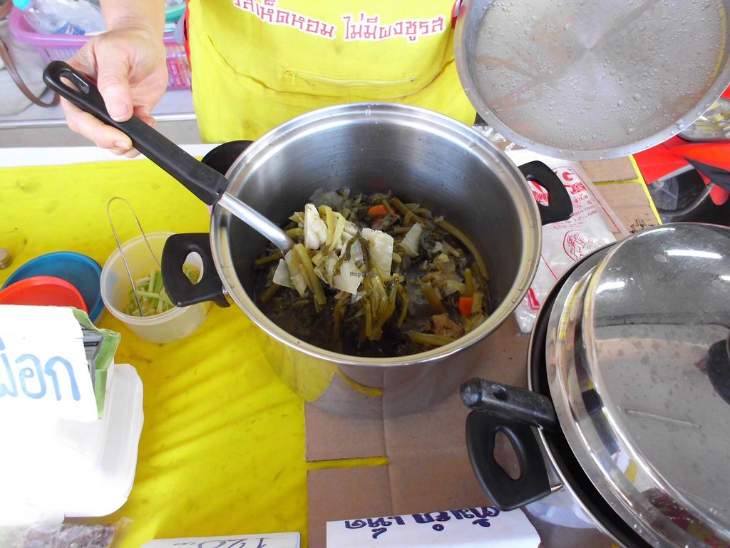"""Photo of Vegan Food Stall  by <a href=""""/members/profile/Maros"""">Maros</a> <br/>A food offer <br/> August 25, 2017  - <a href='/contact/abuse/image/99275/297097'>Report</a>"""