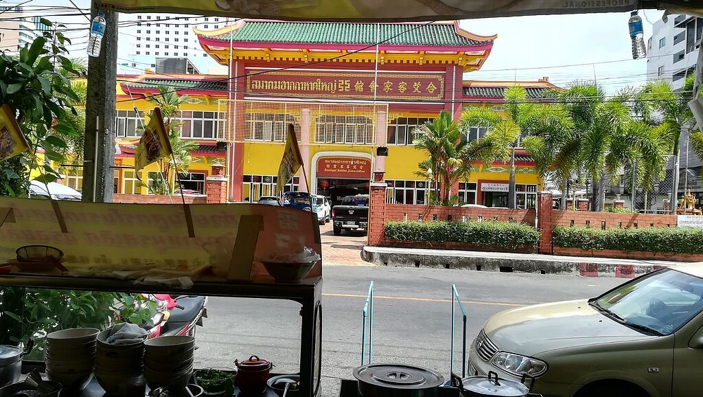 "Photo of Hao Wei  by <a href=""/members/profile/ChoyYuen"">ChoyYuen</a> <br/>View from Hao Wei vegan restaurant. It's located directly opposite the Hatyai Hakka clan association <br/> March 23, 2018  - <a href='/contact/abuse/image/99284/374823'>Report</a>"