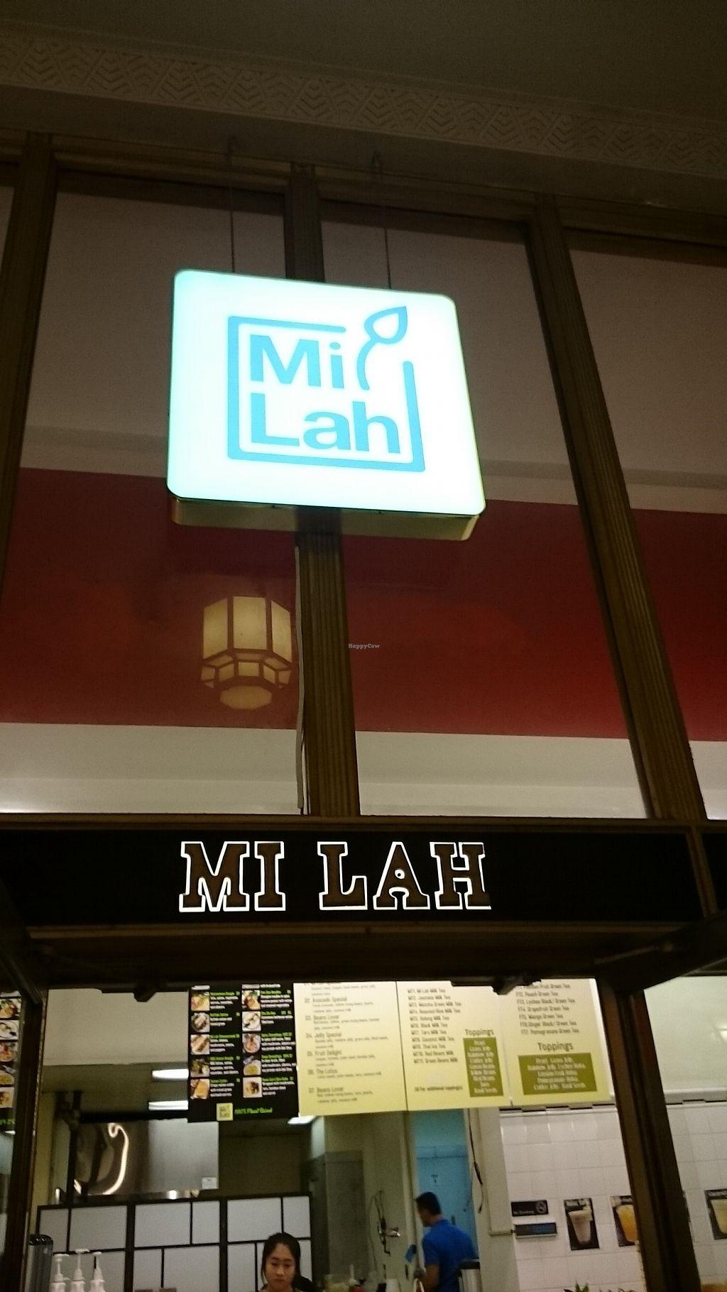 "Photo of Mi Lah - University City  by <a href=""/members/profile/ZoraySpielvogel"">ZoraySpielvogel</a> <br/>Front entrance.  <br/> September 10, 2017  - <a href='/contact/abuse/image/99300/302967'>Report</a>"
