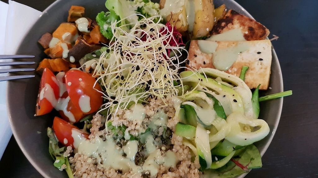 "Photo of REMOVED: Loris Restaurant & Cafe  by <a href=""/members/profile/Tank242"">Tank242</a> <br/>Buddha Bowl <br/> October 19, 2017  - <a href='/contact/abuse/image/99317/316554'>Report</a>"