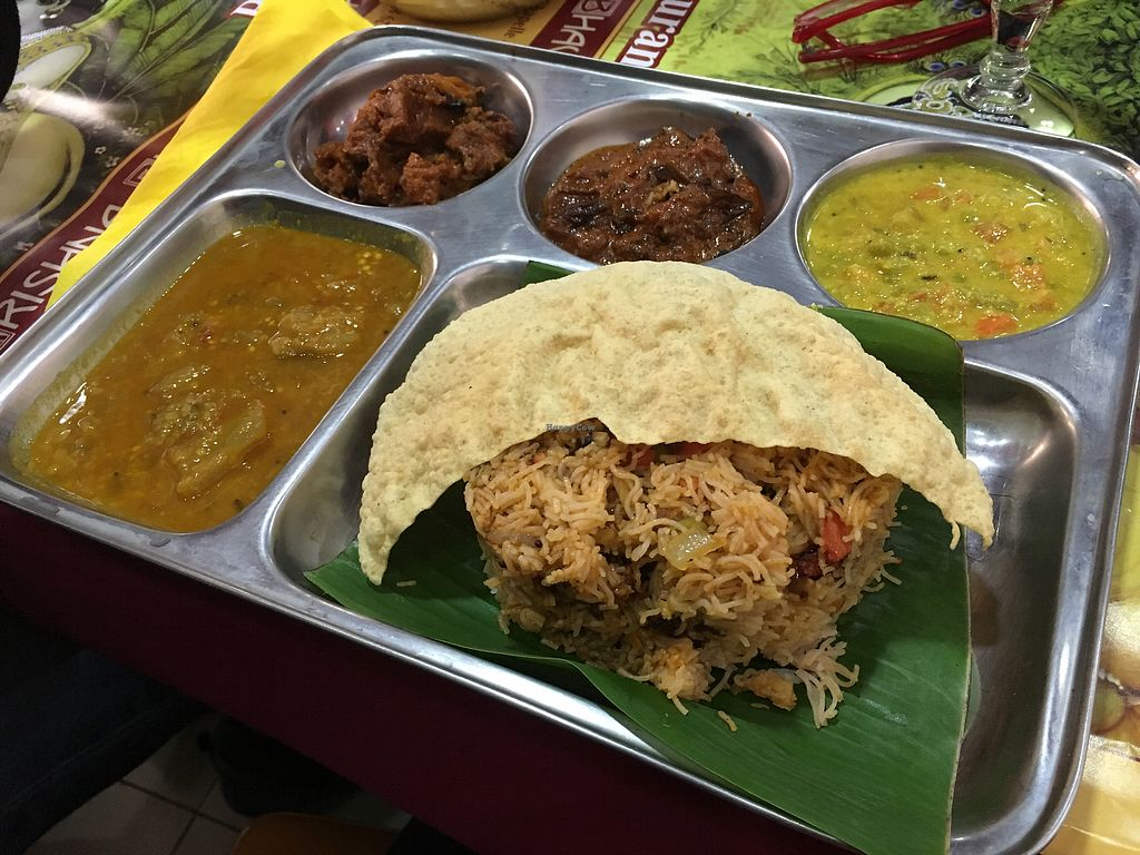 """Photo of Krishna Bhavan - 10eme  by <a href=""""/members/profile/Shanthi"""">Shanthi</a> <br/>Stringhoppers the Sri Lankan way <br/> September 19, 2017  - <a href='/contact/abuse/image/9932/306078'>Report</a>"""