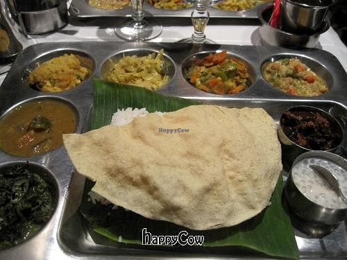 """Photo of Krishna Bhavan - 10eme  by <a href=""""/members/profile/Babette"""">Babette</a> <br/>Delicious Indian Thali <br/> November 16, 2012  - <a href='/contact/abuse/image/9932/40247'>Report</a>"""