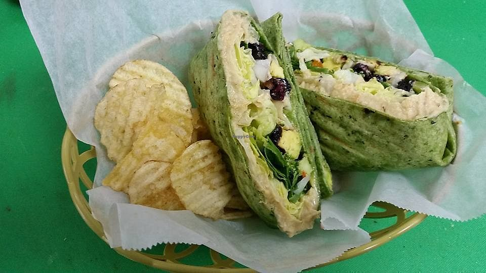 """Photo of Jungle's Café  by <a href=""""/members/profile/community5"""">community5</a> <br/>Veg wrap <br/> August 28, 2017  - <a href='/contact/abuse/image/99341/298421'>Report</a>"""