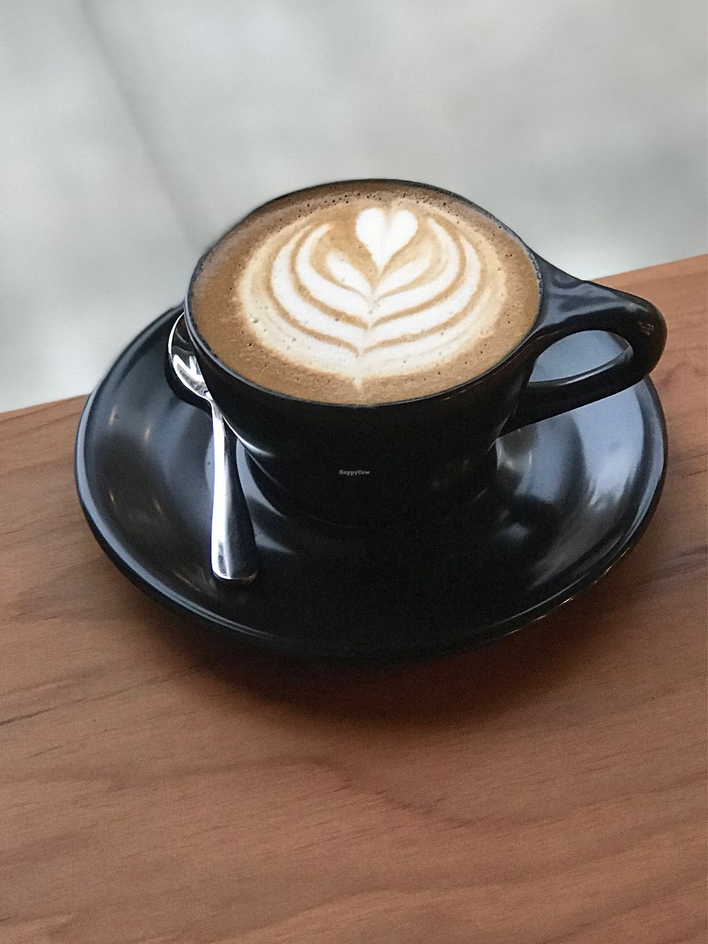 """Photo of Oracle Coffee Company  by <a href=""""/members/profile/OracleCoffee"""">OracleCoffee</a> <br/>Oatly cappuccino <br/> January 19, 2018  - <a href='/contact/abuse/image/99360/348200'>Report</a>"""