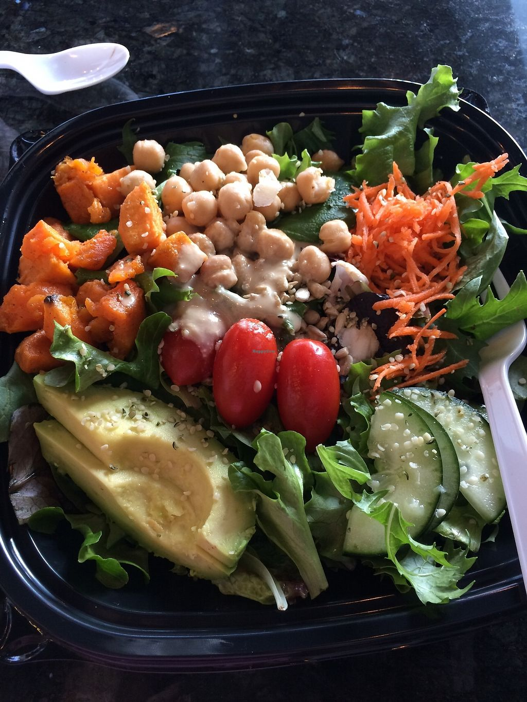 "Photo of Thrive Cafe  by <a href=""/members/profile/HeidiMignonne"">HeidiMignonne</a> <br/>Salad <br/> March 7, 2018  - <a href='/contact/abuse/image/99364/367836'>Report</a>"