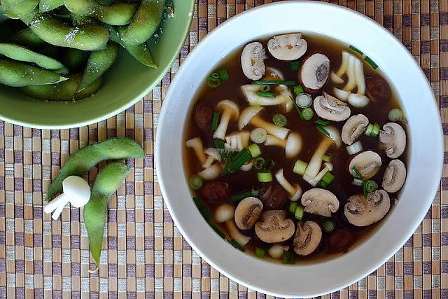 """Photo of Night & Day - maybe closed  by <a href=""""/members/profile/DangOccThailand"""">DangOccThailand</a> <br/>Vegetarian Miso soup  <br/> December 1, 2017  - <a href='/contact/abuse/image/99388/331026'>Report</a>"""