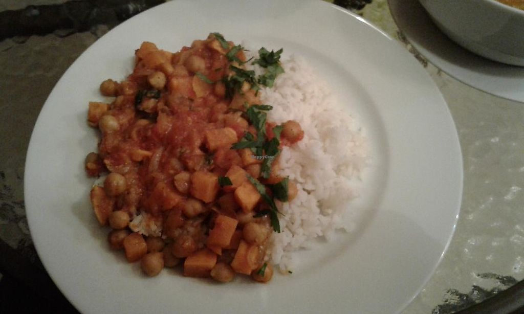 "Photo of Deliszys  by <a href=""/members/profile/sagar"">sagar</a> <br/>Veggies with Chick Peas over Rice <br/> October 22, 2017  - <a href='/contact/abuse/image/99416/317752'>Report</a>"
