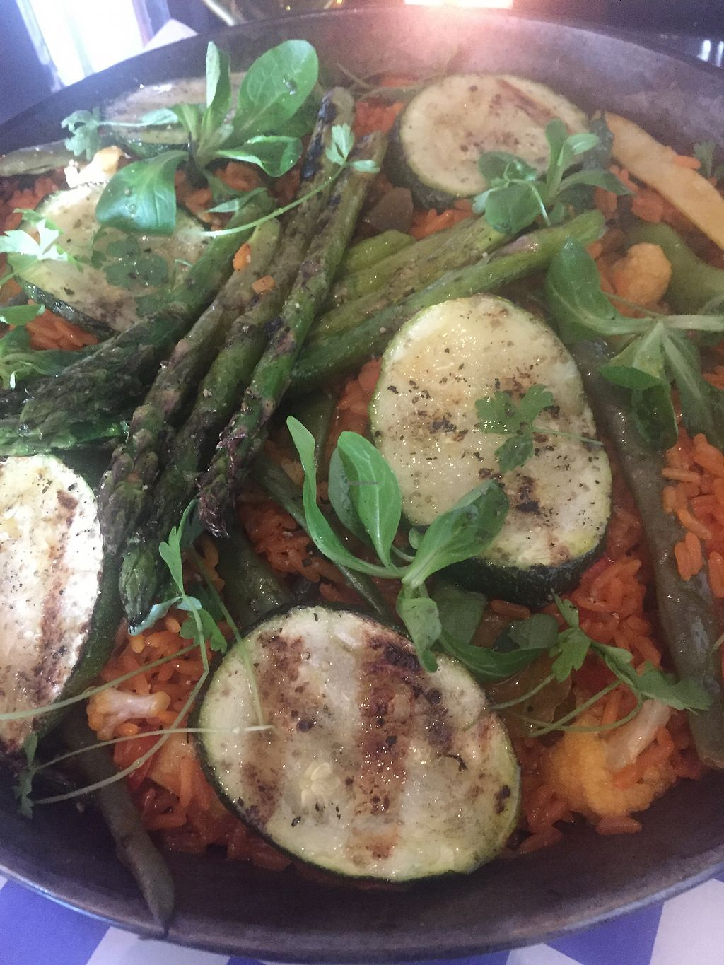 """Photo of Three Chef's Bistro  by <a href=""""/members/profile/dawnlynn0421%40yahoo.co"""">dawnlynn0421@yahoo.co</a> <br/>vegetable paella  <br/> August 26, 2017  - <a href='/contact/abuse/image/99472/297667'>Report</a>"""