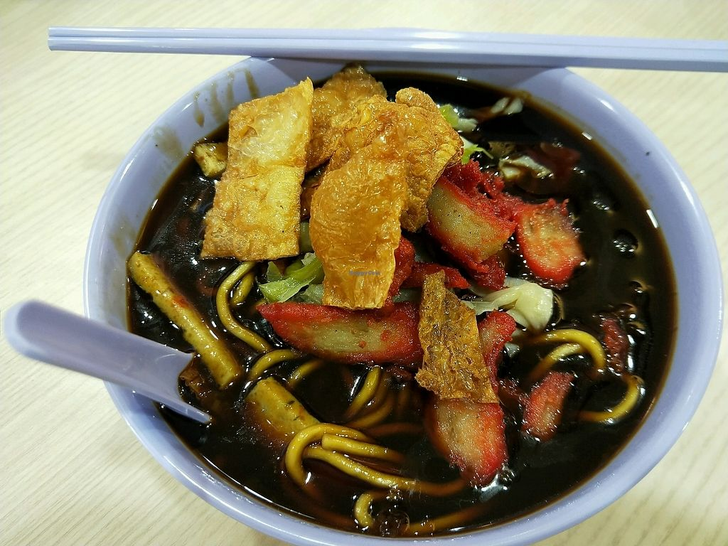 """Photo of Ji Ling Vegetarian   by <a href=""""/members/profile/%E8%AE%B8%E6%99%BA%E5%BC%BA"""">许智强</a> <br/>卤面。 <br/> December 6, 2017  - <a href='/contact/abuse/image/99475/332841'>Report</a>"""